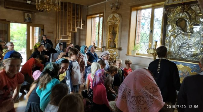 Летний семейный лагерь на Подворье Донского монастыря