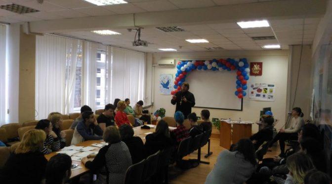 Духовенство Донского монастыря приняло участие в студенческом круглом столе «Экстремизм — враг мирной жизни»