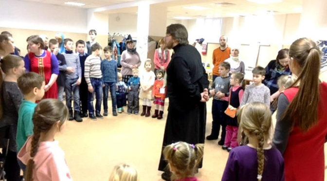 Празднование Масленицы в Донском монастыре