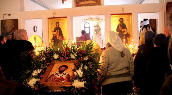 Престольный праздник во имя святителя Григория Паламы