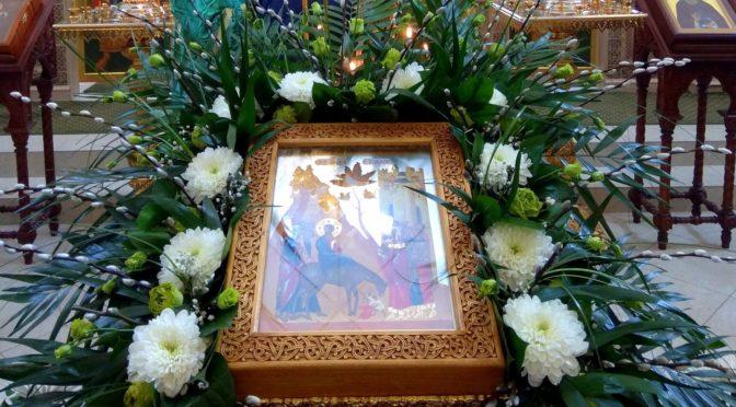 Вход Господень в Иерусалим на подворье Донского монастыря