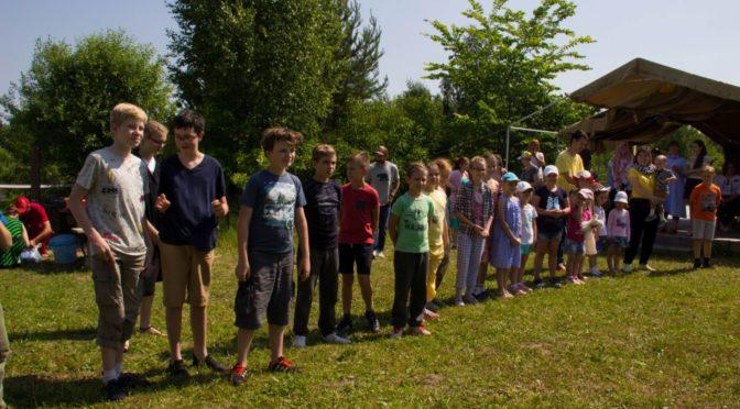 Вторая смена детского лагеря при храме преподобного Сергия Радонежского