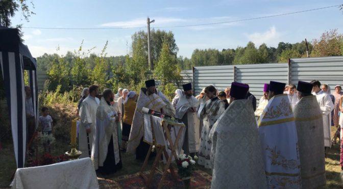 Крестный ход в Майково 29 августа