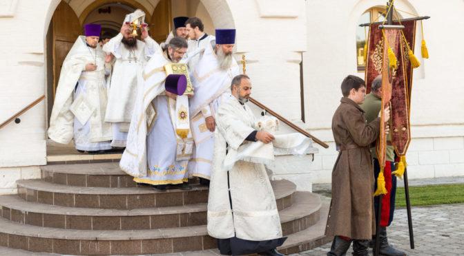 Освящение храма преподобного Сергия Радонежского на подворье Донского монастыря
