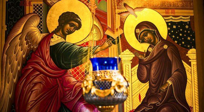 Праздник Благовещения Пресвятой Богородицы в храме преподобного Сергия Радонежского